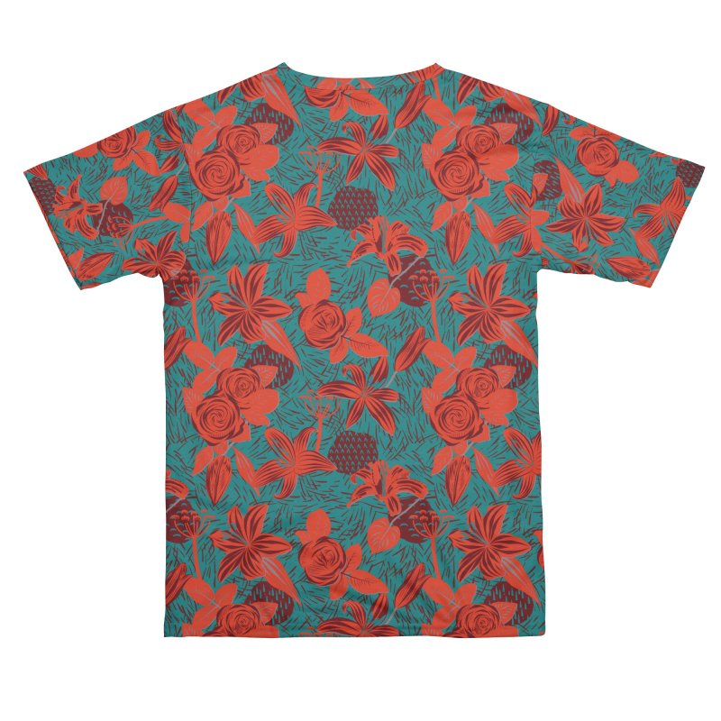 Red roses and lilies Women's Cut & Sew by Kreativkollektiv Friedlos und Streitsüchtig