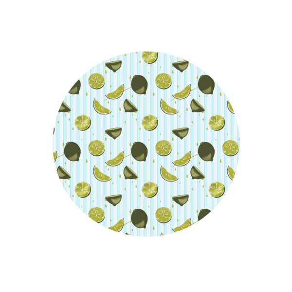 image for Fresh lime on striped background