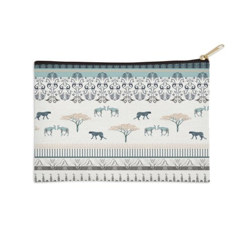 image for ornamental pattern with exotic animals