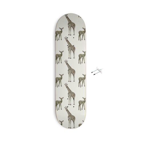 image for Cute giraffe and antelope