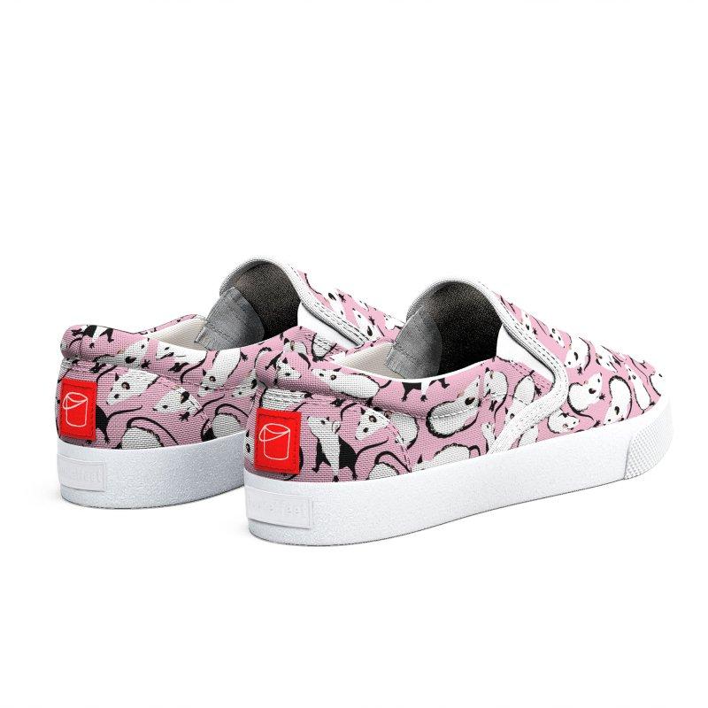 Cute pink mice Women's Shoes by Kreativkollektiv Friedlos und Streitsüchtig