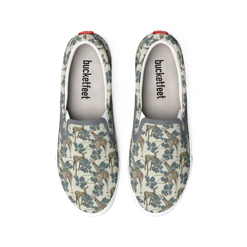 Blue orchid Women's Shoes by Kreativkollektiv Friedlos und Streitsüchtig