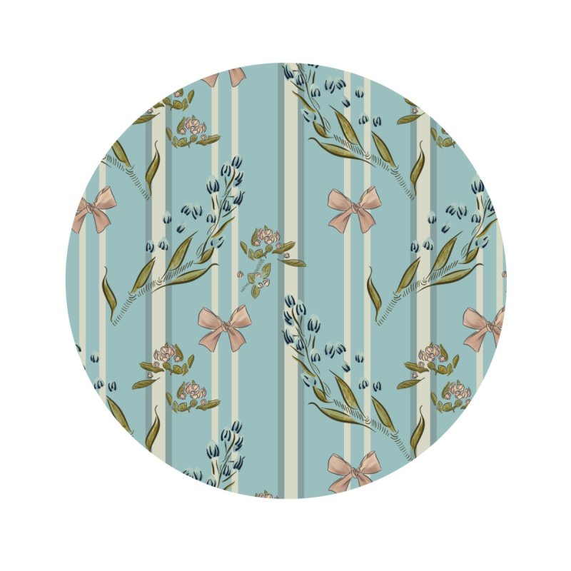 Elegant pattern with gift bow and blossoms Home Blanket by Kreativk Friedlos und Streitsüchtig