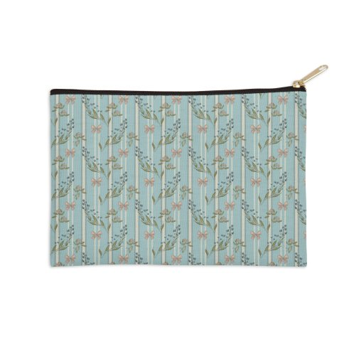 image for Elegant pattern with gift bow and blossoms