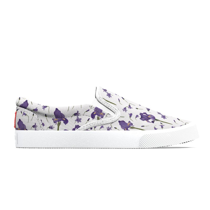 Iris and bellflowers Women's Shoes by Kreativkollektiv Friedlos und Streitsüchtig