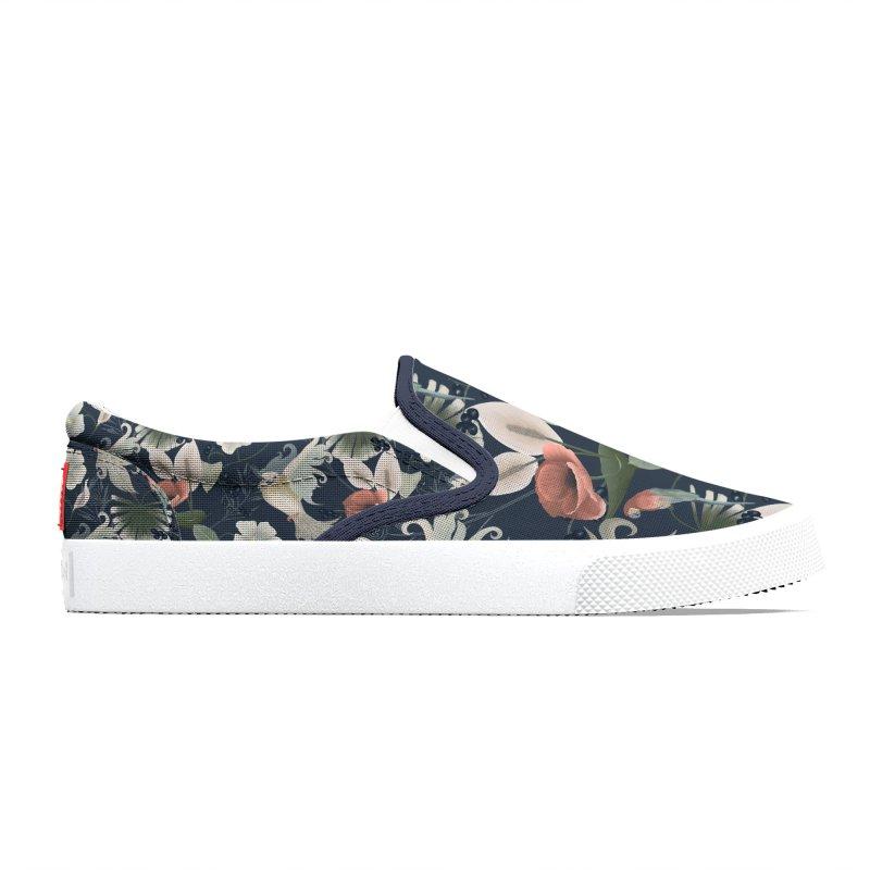 Birds and plants Women's Shoes by Kreativkollektiv designs