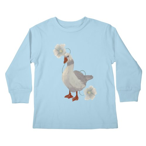 image for Cute goose and flowers