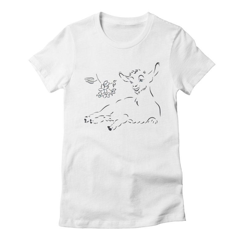 Cute little goat Women's T-Shirt by Kreativkollektiv designs
