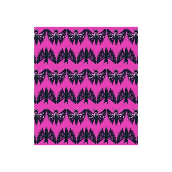 image for Black moth on pink