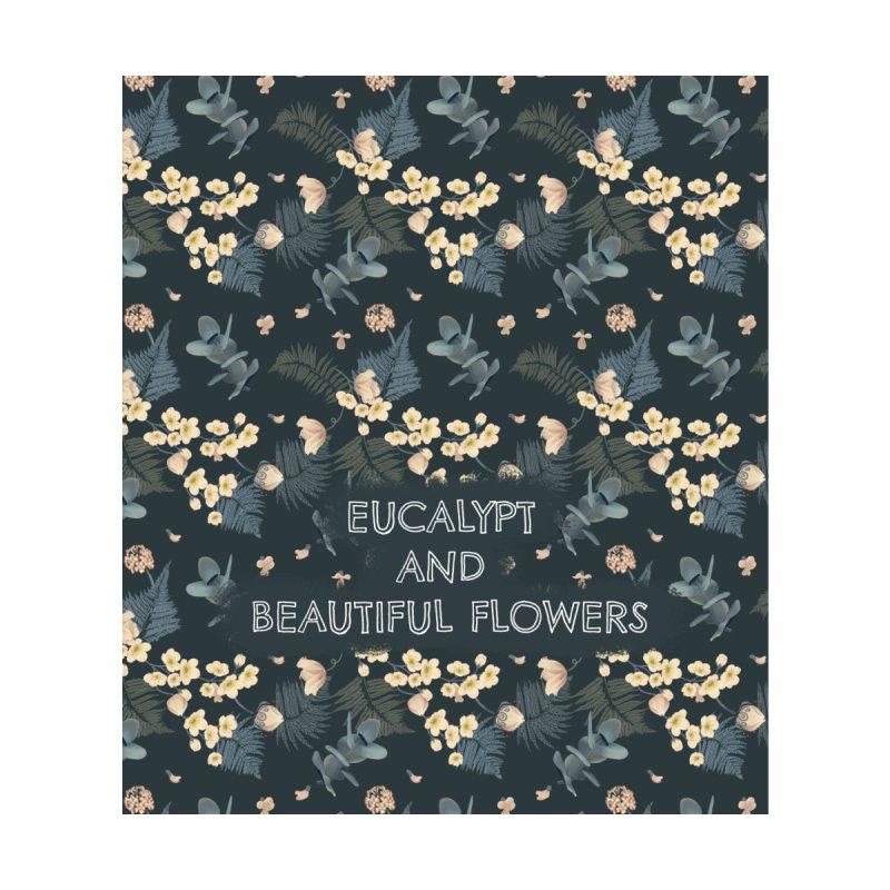 Eucalypt and beautiful flowers Women's Bottoms by Kreativkollektiv designs