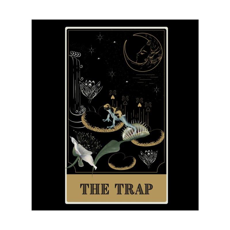 The trap Men's T-Shirt by Kreativkollektiv Friedlos und Streitsüchtig