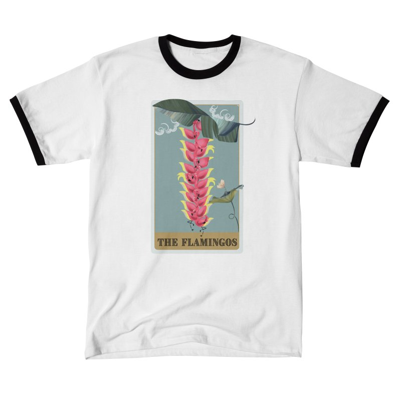 The Flamingos Men's T-Shirt by Kreativkollektiv Friedlos und Streitsüchtig