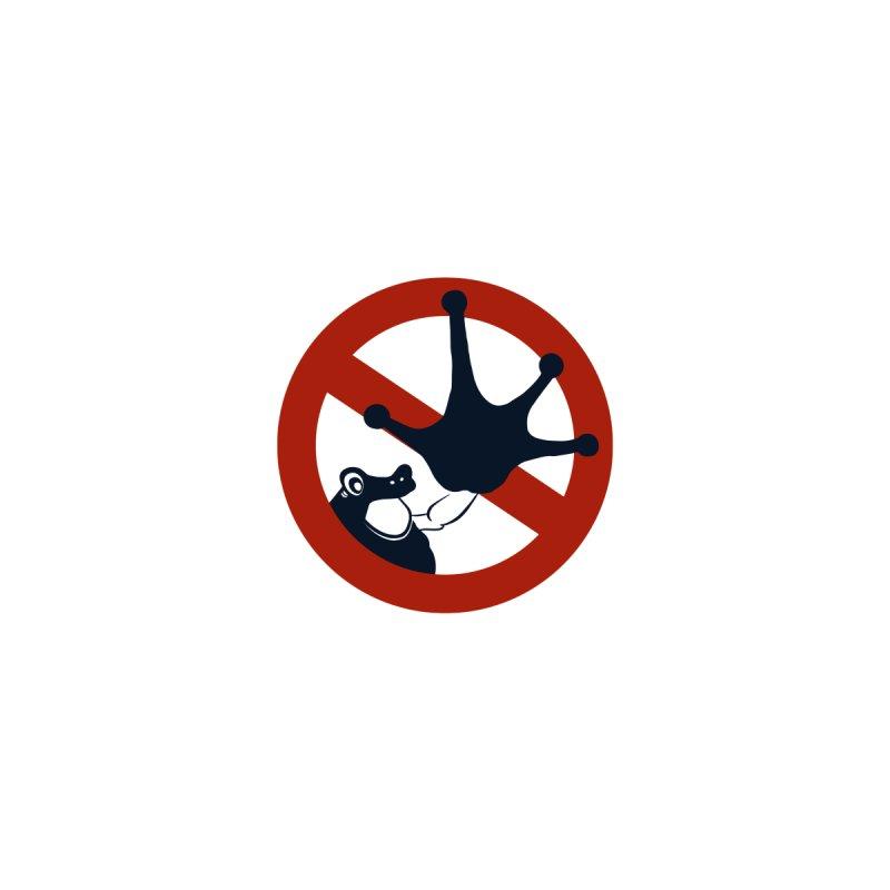 frog says stop! Accessories Sticker by Kreativkollektiv Friedlos und Streitsüchtig