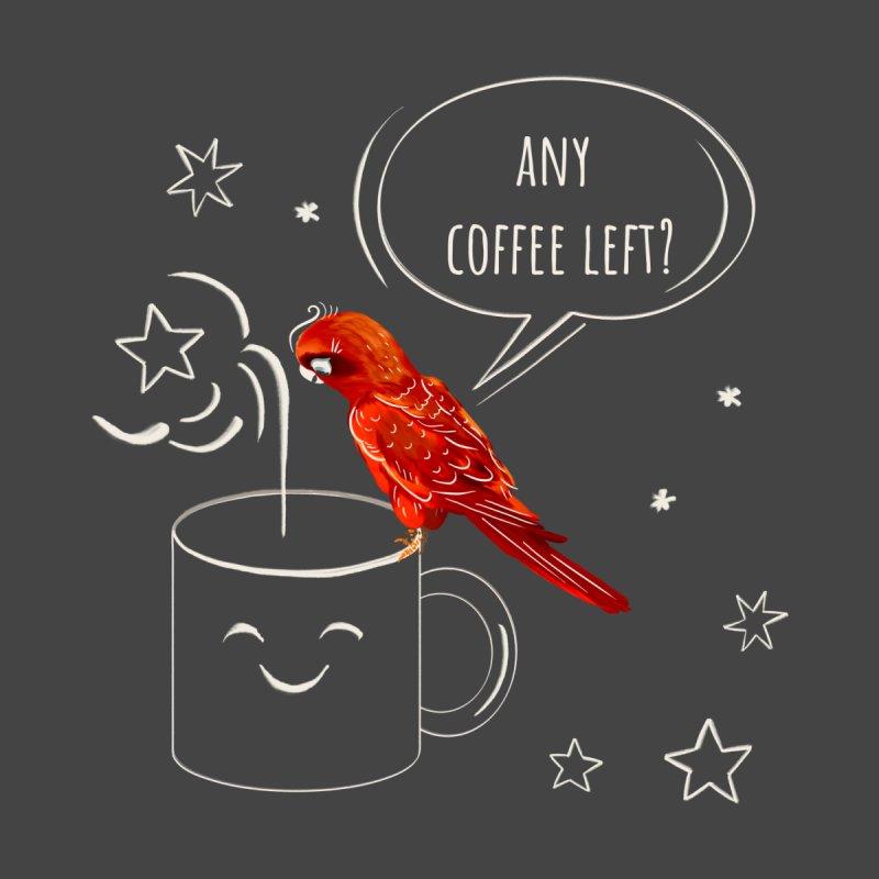 Any coffee left? Men's Longsleeve T-Shirt by Kreativkollektiv designs