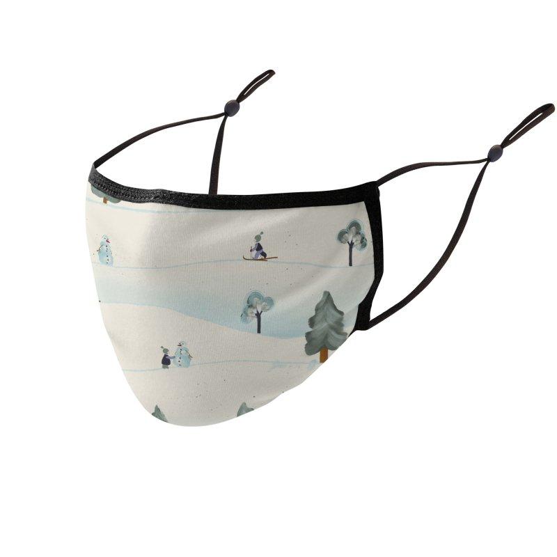 Winter scenery Accessories Face Mask by Kreativkollektiv designs
