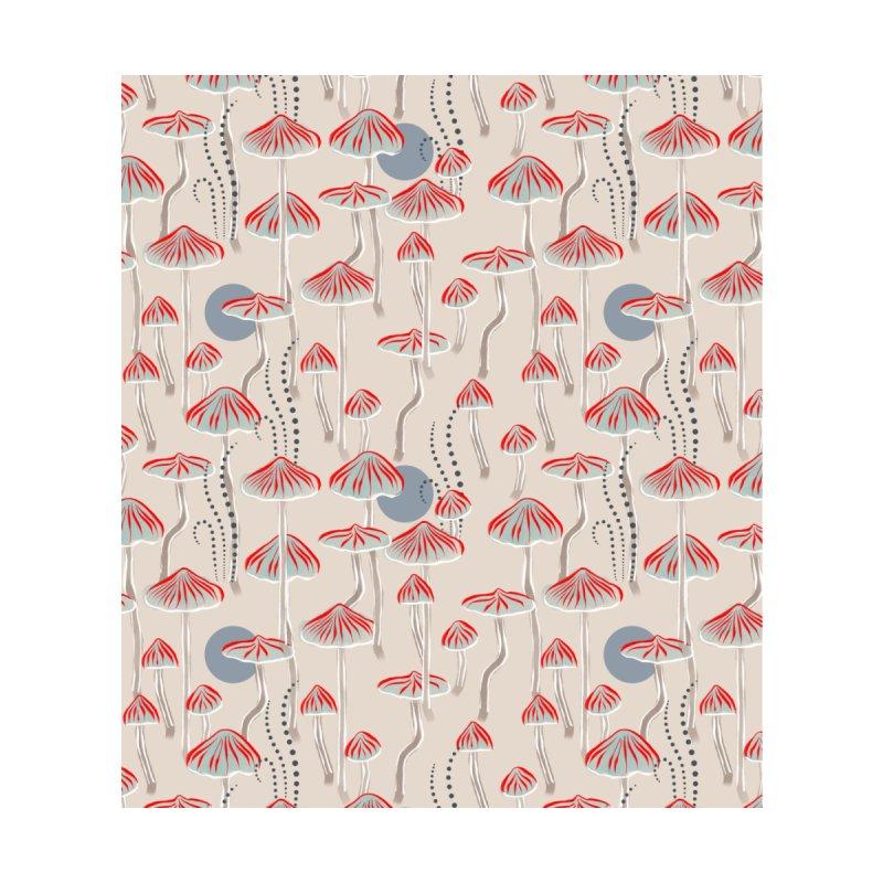 Mushroom colony Accessories Beach Towel by Kreativkollektiv designs