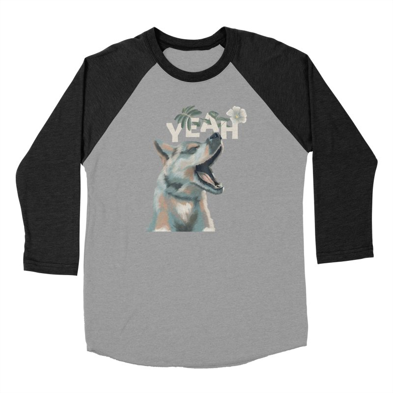 Yeah Men's Longsleeve T-Shirt by Kreativkollektiv designs