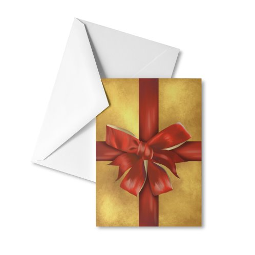 image for Red gift bow
