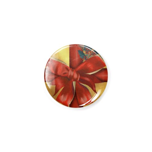 image for festive red gift bow