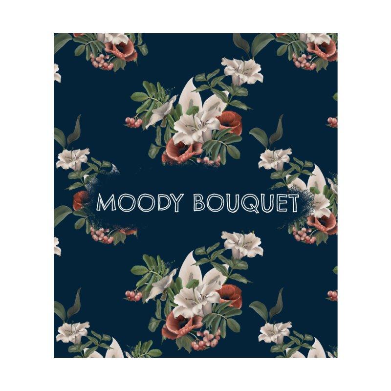 Moody bouquet Accessories Neck Gaiter by Kreativkollektiv designs