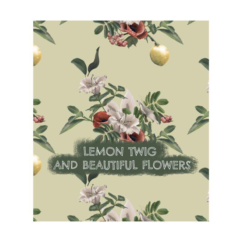 Lemon twig and beautiful flowers Accessories Sticker by Kreativkollektiv designs