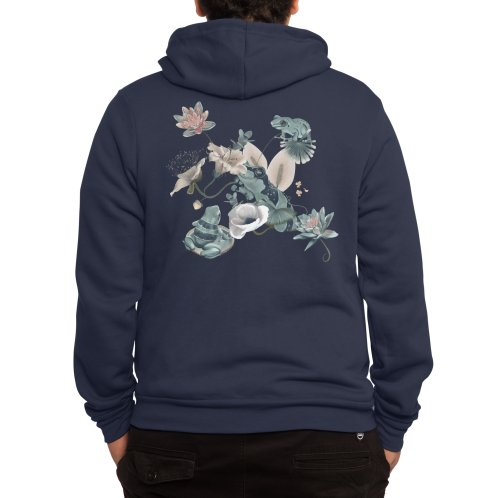image for Blue frogs and flowers