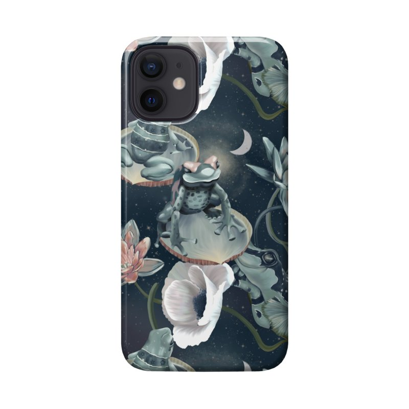 Friendly frogs and night sky Accessories Phone Case by Kreativkollektiv designs