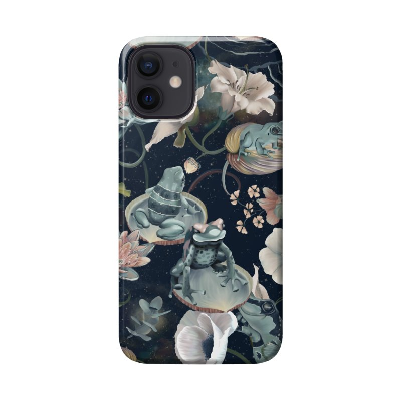 A fascinating world of blue frogs Accessories Phone Case by Kreativkollektiv designs