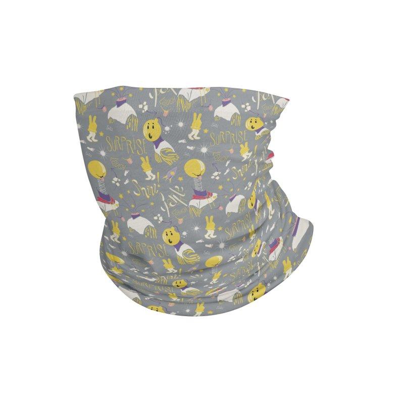Shine, sparkle, smile, surprise Accessories Neck Gaiter by Kreativkollektiv designs