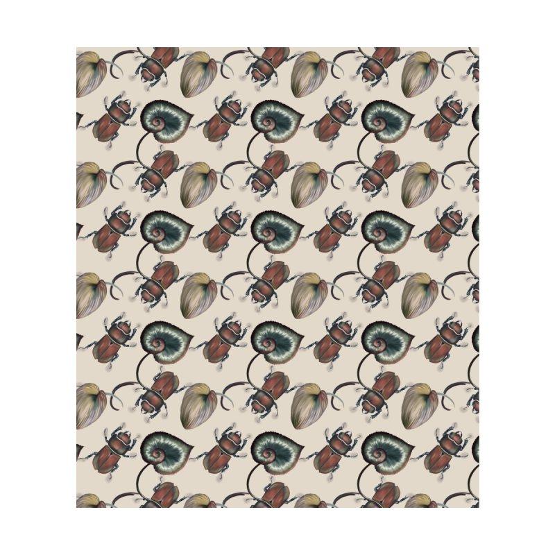 Brown beetle and tropical leaves Men's Cut & Sew by Kreativkollektiv designs
