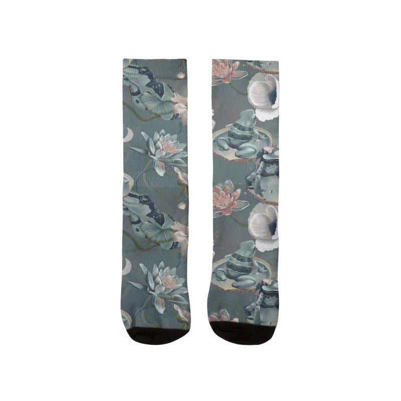 Friendly frogs Men's Socks by Kreativkollektiv designs