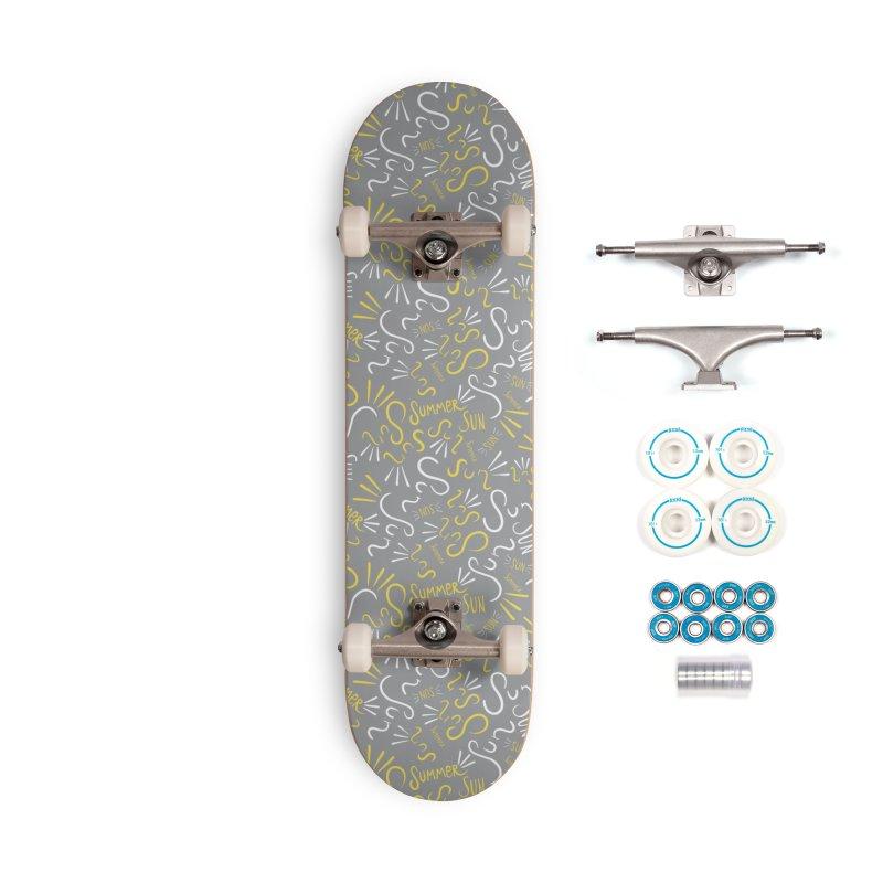 Summer, sun Accessories Skateboard by KreativkDesigns Artist shop