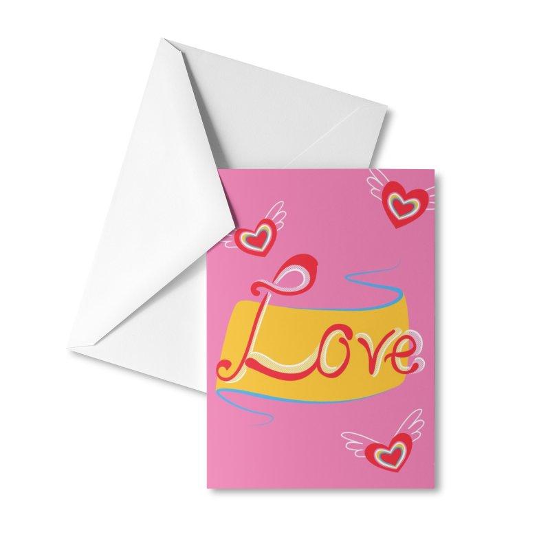 Love Accessories Greeting Card by KreativkDesigns Artist shop