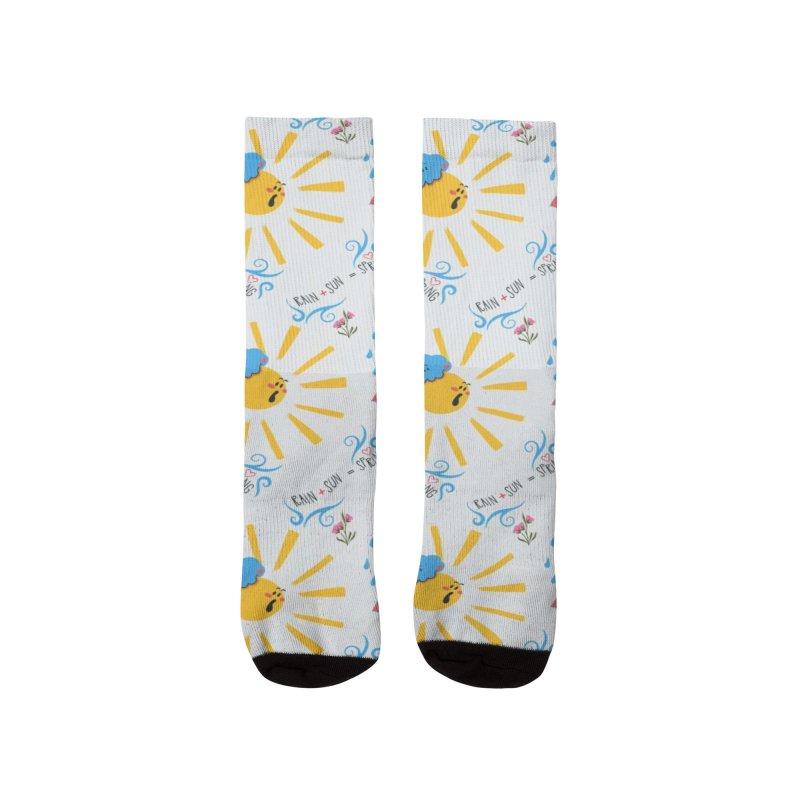 Rain sun spring Women's Socks by Kreativkollektiv designs