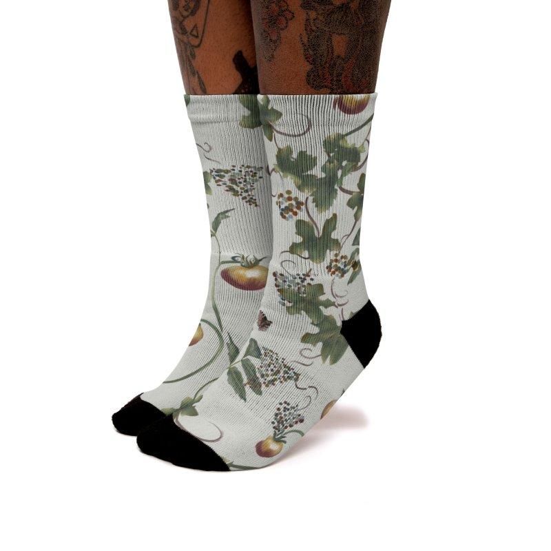 In the garden Women's Socks by KreativkDesigns Artist shop