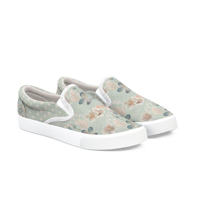 Cute spring inspired floral Women's Shoes by Kreativkollektiv designs