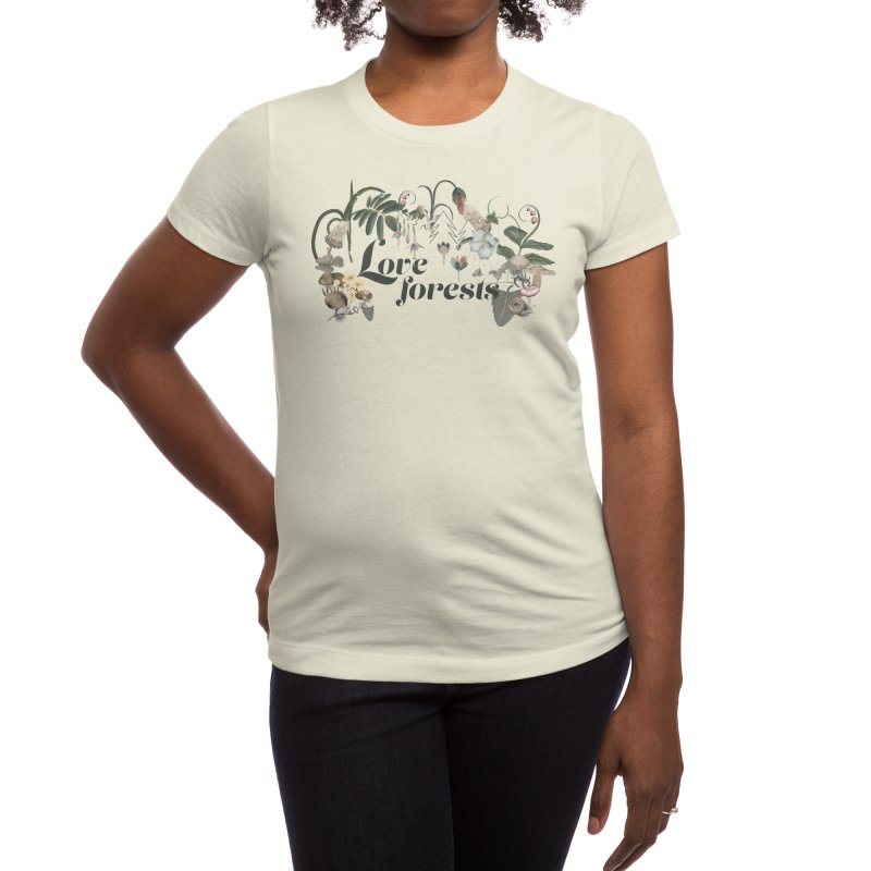 Love forests Women's T-Shirt by Kreativkollektiv designs