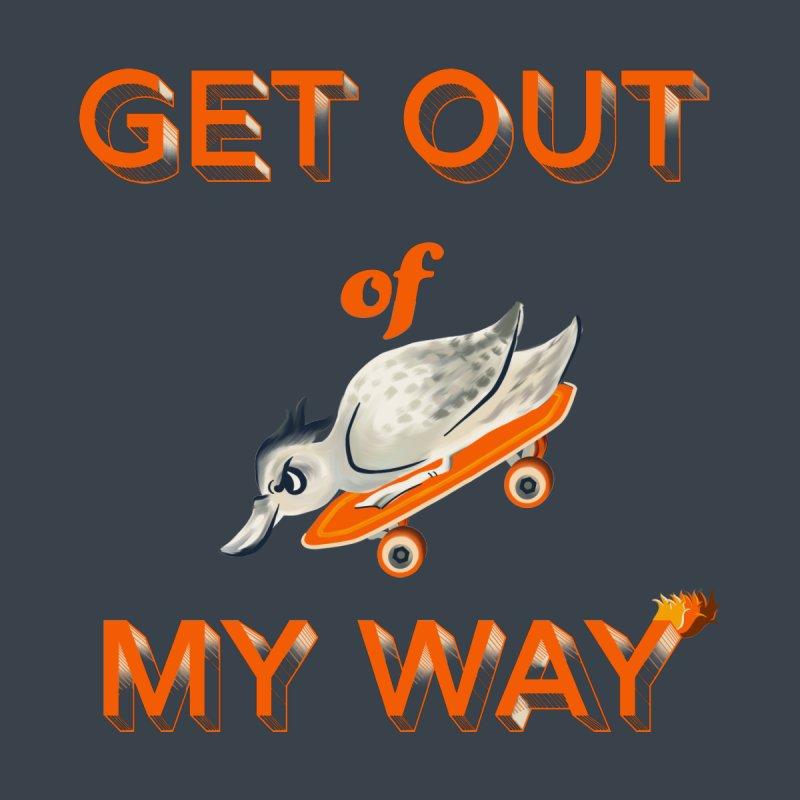 Get out of my way Men's Longsleeve T-Shirt by Kreativkollektiv designs