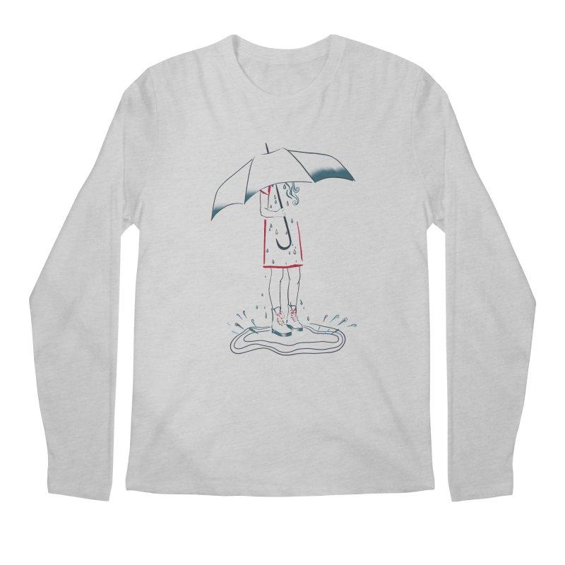 broken-hearted Men's Longsleeve T-Shirt by KreativkDesigns Artist shop