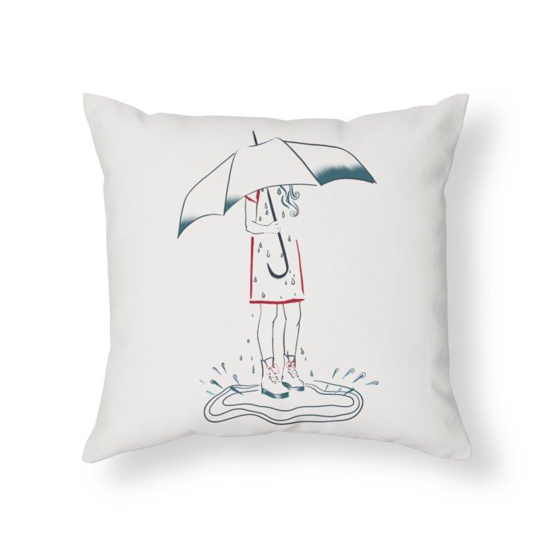 broken-hearted Home Throw Pillow by Kreativkollektiv designs