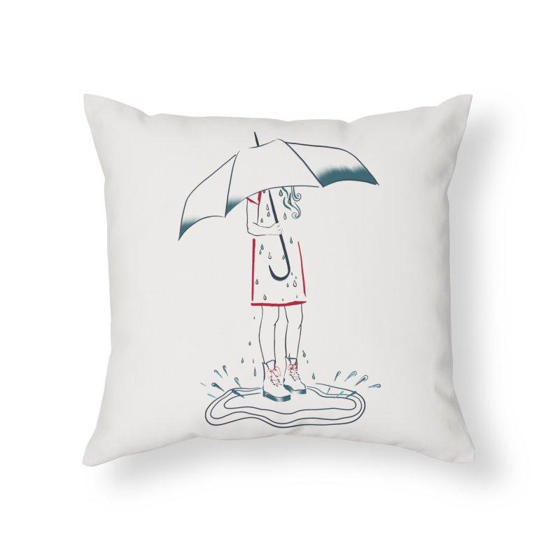 broken-hearted Home Throw Pillow by KreativkDesigns Artist shop