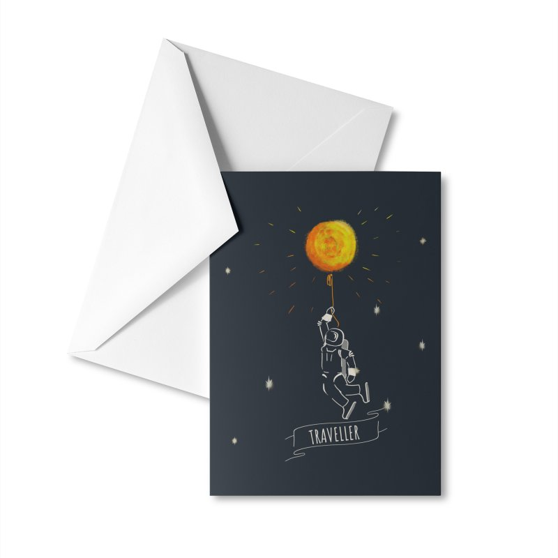 Traveller Accessories Greeting Card by Kreativkollektiv designs