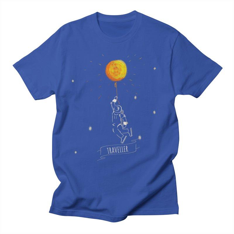 Traveller Men's T-Shirt by KreativkDesigns Artist shop