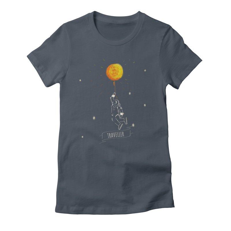 Traveller Women's T-Shirt by KreativkDesigns Artist shop