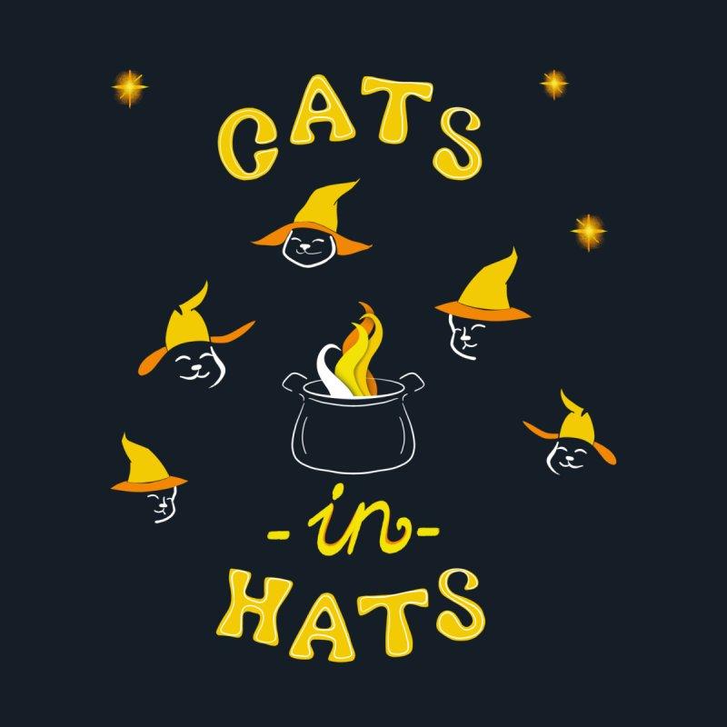 Cats in hats Men's T-Shirt by Kreativkollektiv designs