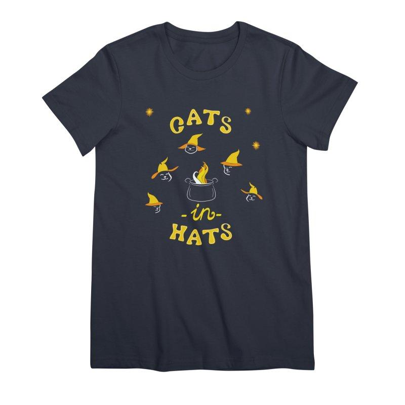 Cats in hats Women's T-Shirt by KreativkDesigns Artist shop