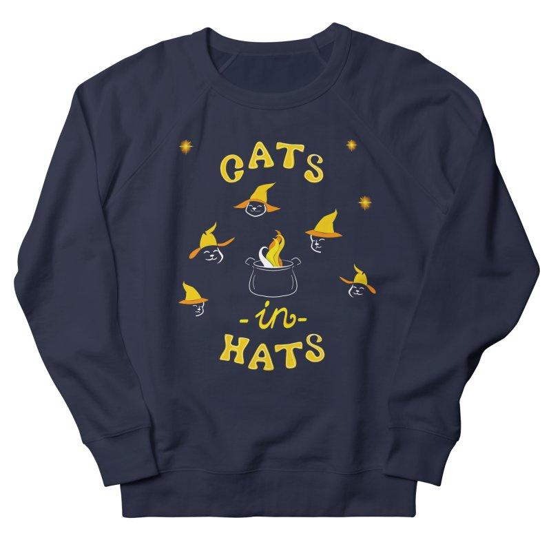 Cats in hats Women's Sweatshirt by Kreativkollektiv designs