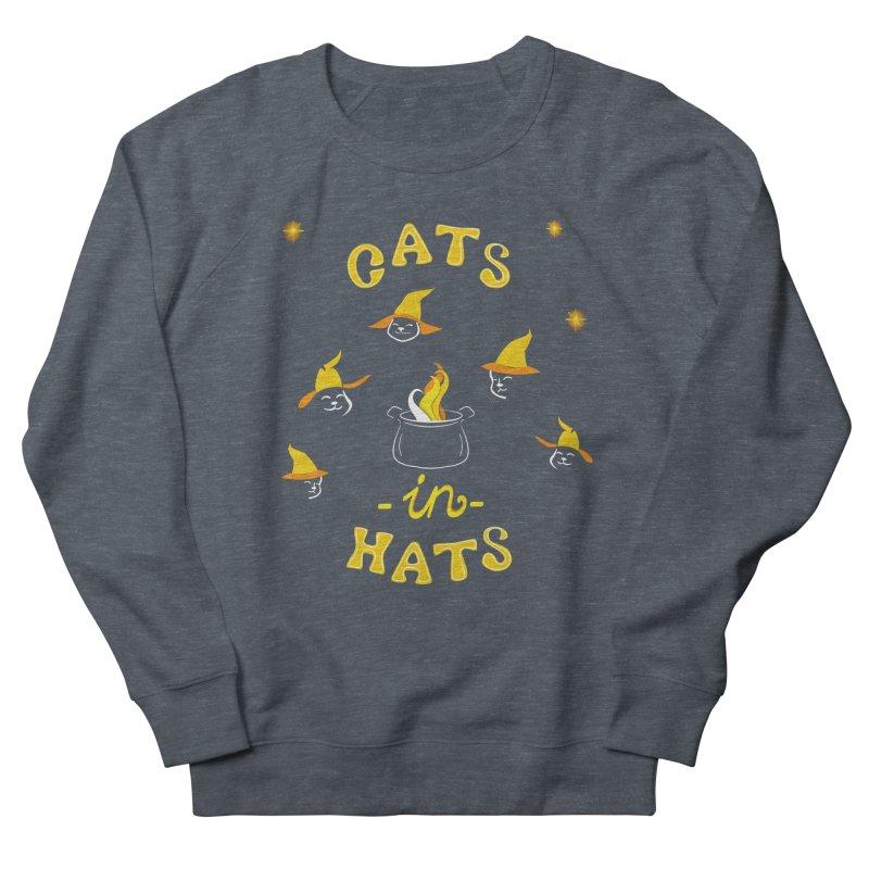 Cats in hats Men's Sweatshirt by Kreativkollektiv designs