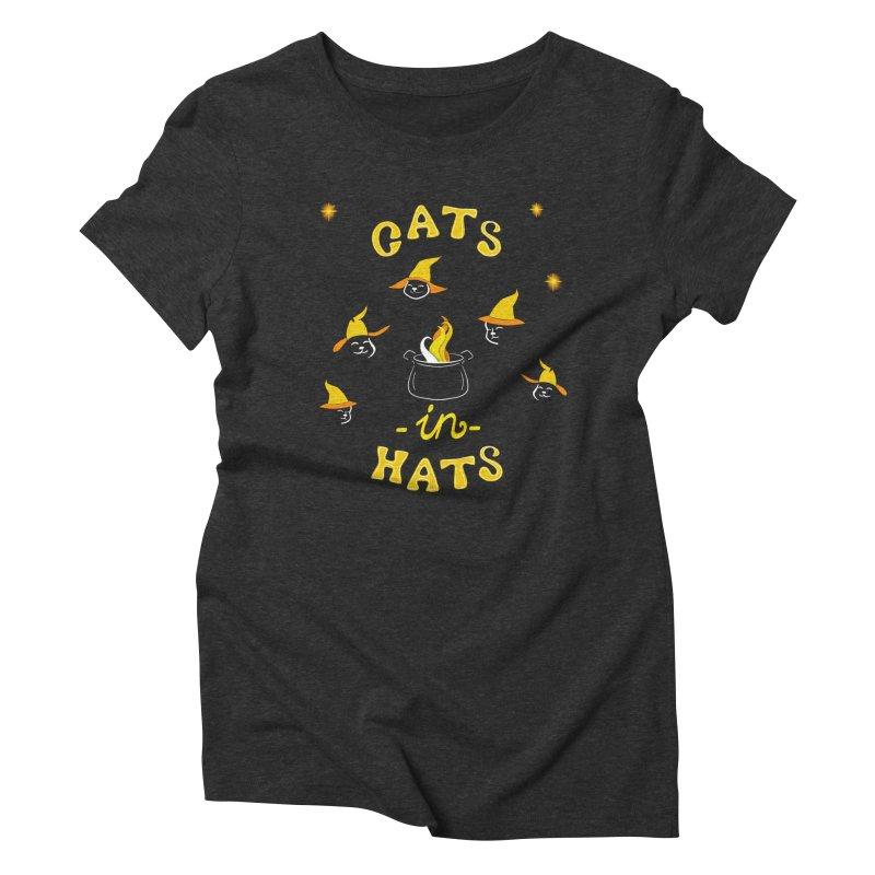 Cats in hats Women's T-Shirt by Kreativkollektiv designs