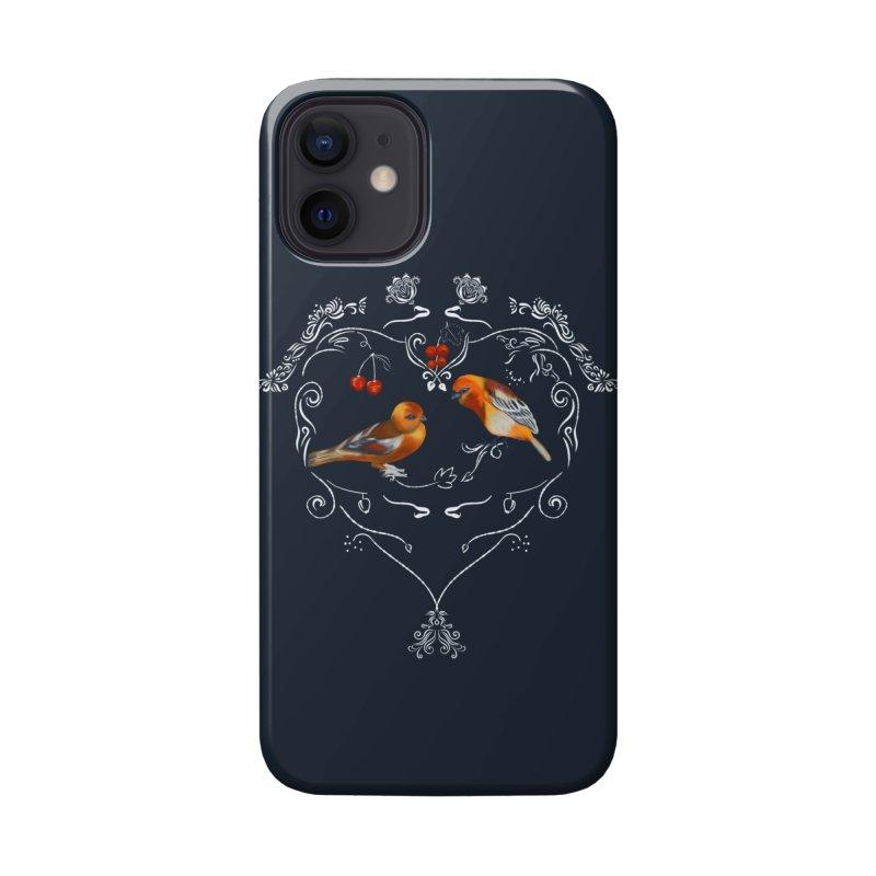 Birds in love Accessories Phone Case by Kreativkollektiv designs